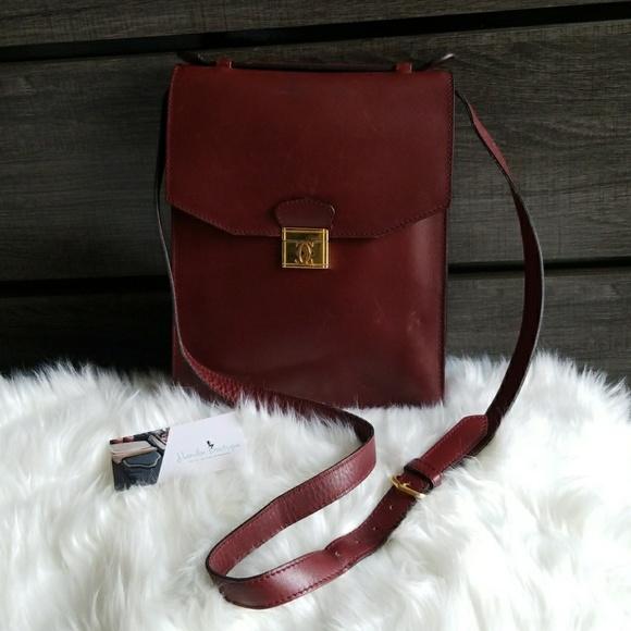 cartier Handbags - 🔥REDUCED TODAY!Vintage CARTIER Must De cross-body 5d25e7294e